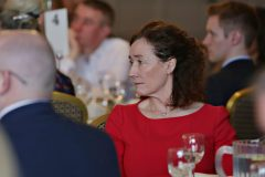Frances Lundy CEO of Riada Resourcing attending the Causeway Chamber President's Business lunch at the Royal Court Hotel in Portrush.    24 Chamber Lunch