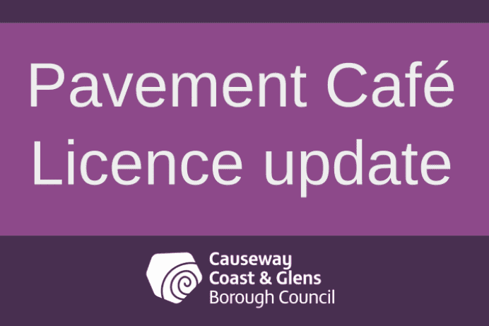 Pavement Café licence process now open with fees waived until 2022