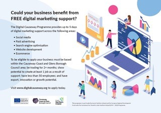 Could your business benefit from FREE digital marketing support?