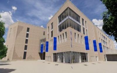 """Exciting progress"" made on Coleraine campus build"