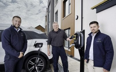 New Electric Vehicle Charger Powers Up in Northern Ireland