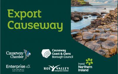 Export Causeway initiative: upcoming events