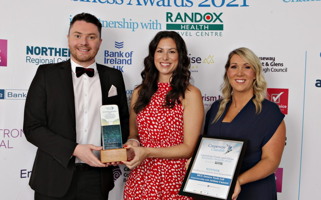 North Coast insurtech firm bags two prestigious awards at 2021 Causeway Business Awards