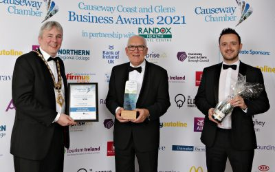 Winners unveiled at Causeway Coast & Glens Business Awards 2021
