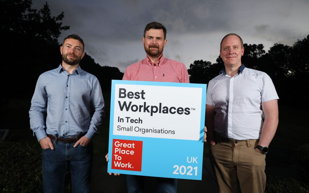 Covernet officially recognised as a Great Place to Work™
